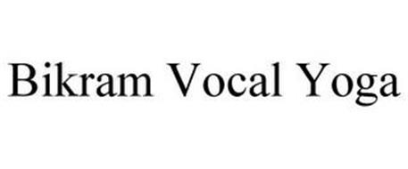 BIKRAM VOCAL YOGA