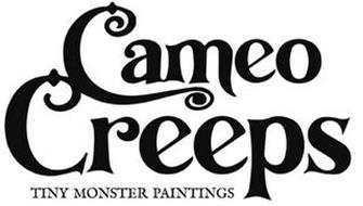 CAMEO CREEPS TINY MONSTER PAINTINGS