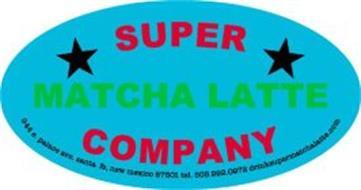 SUPER MATCHA LATTE COMPANY