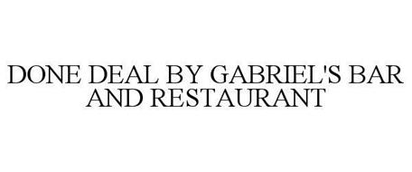 DONE DEAL BY GABRIEL'S BAR AND RESTAURANT