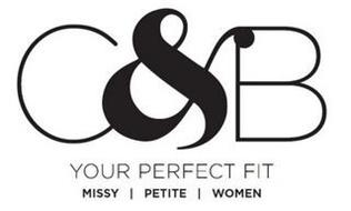 C&B YOUR PERFECT FIT MISSY PETITE WOMEN