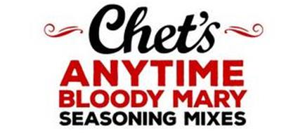 CHET'S ANYTIME BLOODY MARY SEASONING MIXES