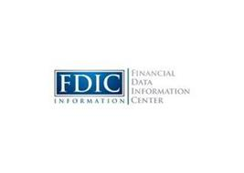 FDIC INFORMATION FINANCIAL DATA INFORMATION CENTER