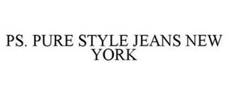 PS. PURE STYLE JEANS NEW YORK