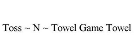 TOSS ~ N ~ TOWEL GAME TOWEL