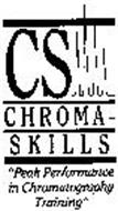 "CS CHROMA-SKILLS ""PEAK PERFORMANCE IN CHROMATOGRAPHY TRAINING"""