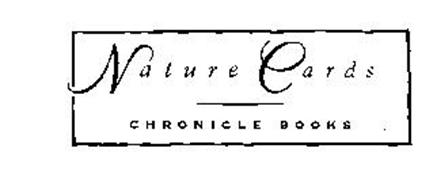 NATURE CARDS CHRONICLE BOOKS