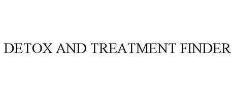 DETOX AND TREATMENT FINDER