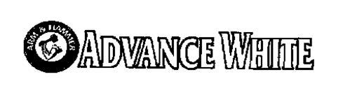 ADVANCE WHITE ARM & HAMMER THE STANDARDOF PURITY
