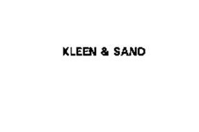 KLEEN & SAND