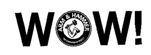 WOW! ARM AND HAMMER THE STANDARD OF PURITY