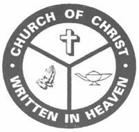 CHURCH OF CHRIST WRITTEN IN HEAVEN
