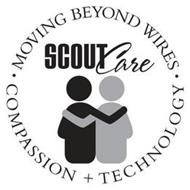 SCOUTCARE · MOVING BEYOND WIRES · COMPASSION + TECHNOLOGY