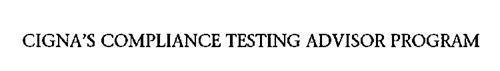 CIGNA'S COMPLIANCE TESTING ADVISOR PROGRAM