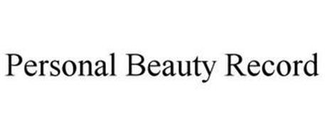PERSONAL BEAUTY RECORD