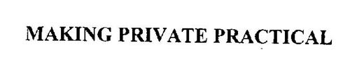 MAKING PRIVATE PRACTICAL