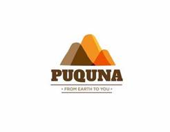 PUQUNA · FROM EARTH TO YOU ·