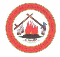 GREAT SEAL OF THE CITIZEN POTAWATOMI NATION NISHNABE PEOPLE OF THE PLACE OF THE FIRE