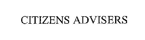 CITIZENS ADVISERS