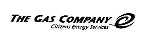 THE GAS COMPANY CITIZENS ENERGY SERVICES