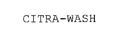 CITRA-WASH