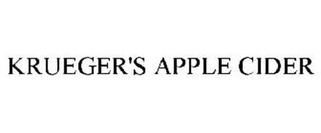 KRUEGER'S APPLE CIDER