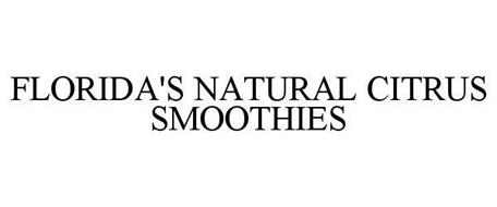 FLORIDA'S NATURAL CITRUS SMOOTHIES