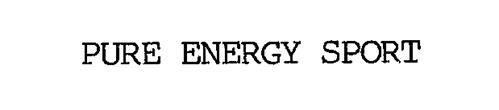 PURE ENERGY SPORT