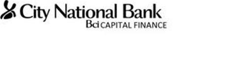 CITY NATIONAL BANK BCI CAPITAL FINANCE