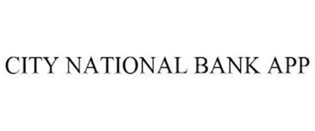 CITY NATIONAL BANK APP