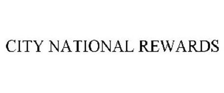 CITY NATIONAL REWARDS