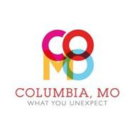 COMO COLUMBIA, MO WHAT YOU UNEXPECT