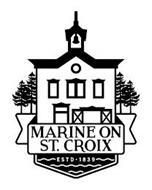 MARINE ON ST. CROIX ESTD · 1839