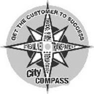 CITY COMPASS GET THE CUSTOMER TO SUCCESS STREAMLINED FAIR & FOCUSED TRANSPARENT ACCOUNTABLE
