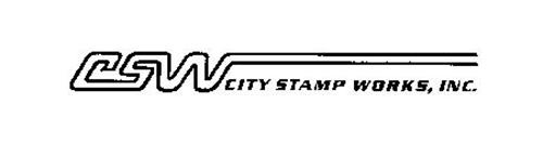 CSW CITY STAMP WORKS, INC.