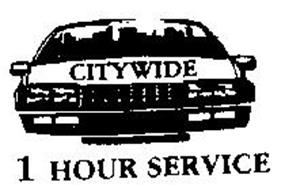 CITYWIDE 1 HOUR SERVICE