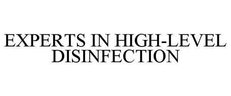 EXPERTS IN HIGH-LEVEL DISINFECTION