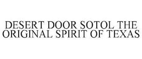 DESERT DOOR THE ORIGINAL SPIRIT OF TEXAS
