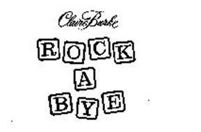 CLAIRE BURKE ROCK A BYE