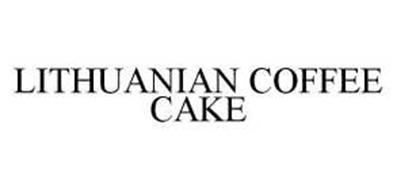LITHUANIAN COFFEE CAKE