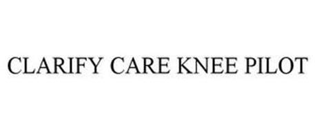 CLARIFY CARE KNEE PILOT