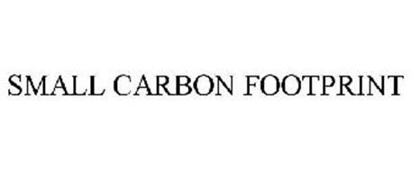 SMALL CARBON FOOTPRINT