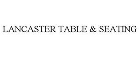 LANCASTER TABLE & SEATING