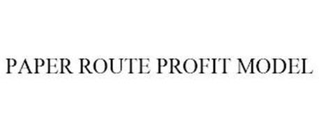 PAPER ROUTE PROFIT MODEL