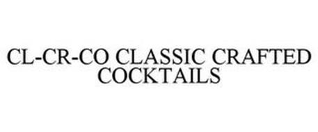 CL-CR-CO CLASSIC CRAFTED COCKTAILS