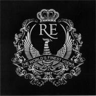 RE THE WORLD'S FINEST VODKA 1867