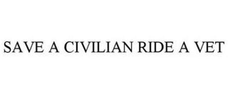 SAVE A CIVILIAN RIDE A VET