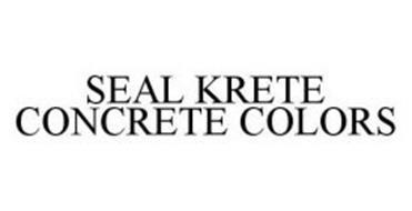 SEAL KRETE CONCRETE COLORS