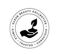 CLEAN BEAUTY COLLECTIVE SIMPLE TRUSTED CONSCIOUS