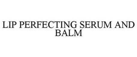 LIP PERFECTING SERUM AND BALM